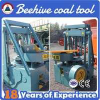 Easy burning honeycomb coal dust briquette press machine/coal powder blocks punching machine