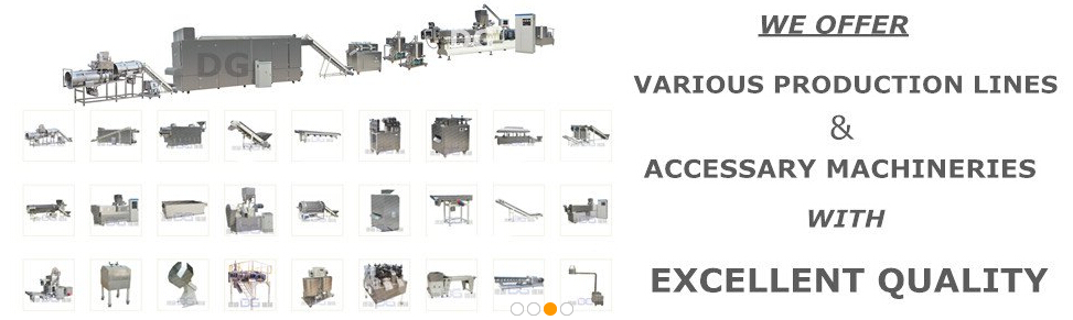 puffed corn flakes/corn snakes extruding machine/production line