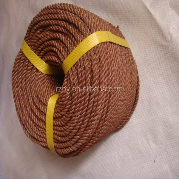 professionally sale many colors pp twine rope