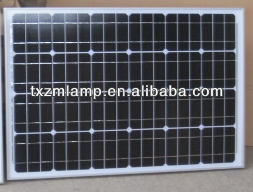 low price and high-quality 12V 100W monocrystalline silicon solar panel