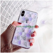 Colorful Bling Diamond Crystal tpu phone case for iPhone X