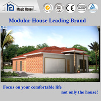 SGS tested concrete prefabricated house with architectural design house plans/ buying house in chittagong