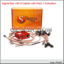 mobile phone repairing tools Sigma Box with 9 cable+pack 1 Activation