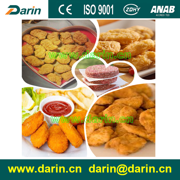 Various shapes meat patty nugget forming machine/hamburger making line with best price