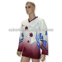 Custom team jersey hockey