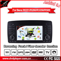 hla 8824 android 5.1 with BT IR MP3/4 1024*600 HD FOR Mercedes r-w250 car dvd gps