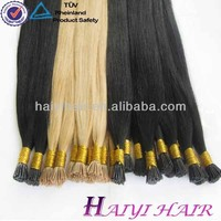 wholesale i tip hair extension type brazilian hair product human i tip hair extension
