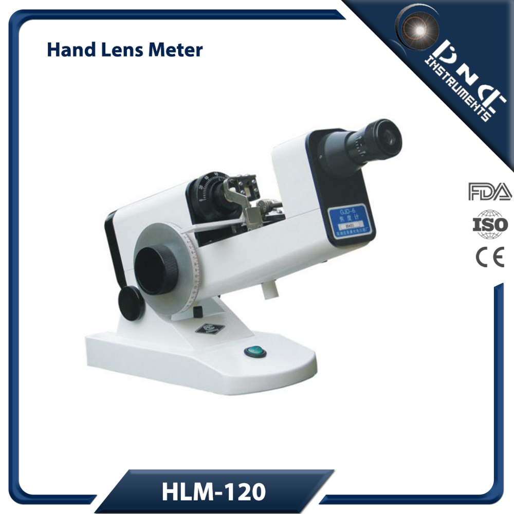 HLM-120 Ophthalmic Instruments Portable Manual Lensometer