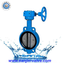 Handle lever butterfly valve factory supply hard face lug butterfly valve