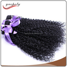 2017 New Popular Ali Leader High Temperature Fiber Jerry Curly Brazilian Hair Double Drawn Braid Weft Synthetic Hair Extension