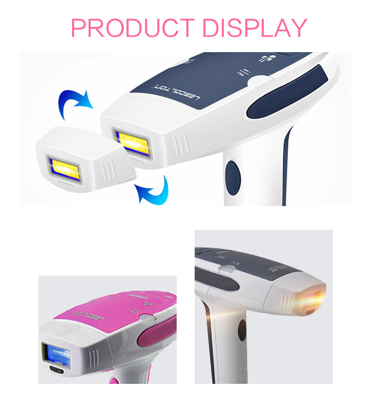 home beauty device portable ipl epilator electric lady shaver epilator shaver diode ipl 808nm diode laser hair remover machine