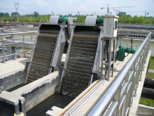 solid liquid separator Mechanical fine Bar Screen for industial Wastewater