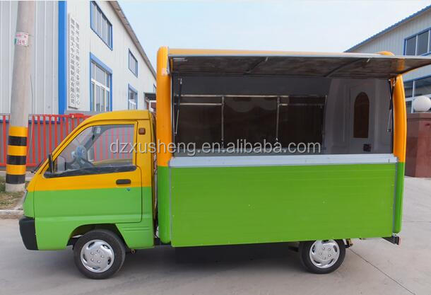 Factory direct Best quality mobile snack food cart/dinner car