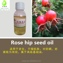 Cold Pressed Natural Rosehip Oil From Rose Hip Seed Carrier Oil Bulk Price