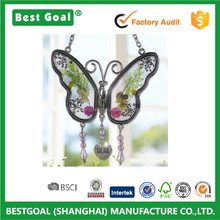 Mom Butterfly Mother Suncatcher with Pressed Flower Wings - Butterfly Suncatcher Gifts for Mothers