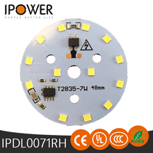 High quality downlight ac led module led 2835 pcb module 7w