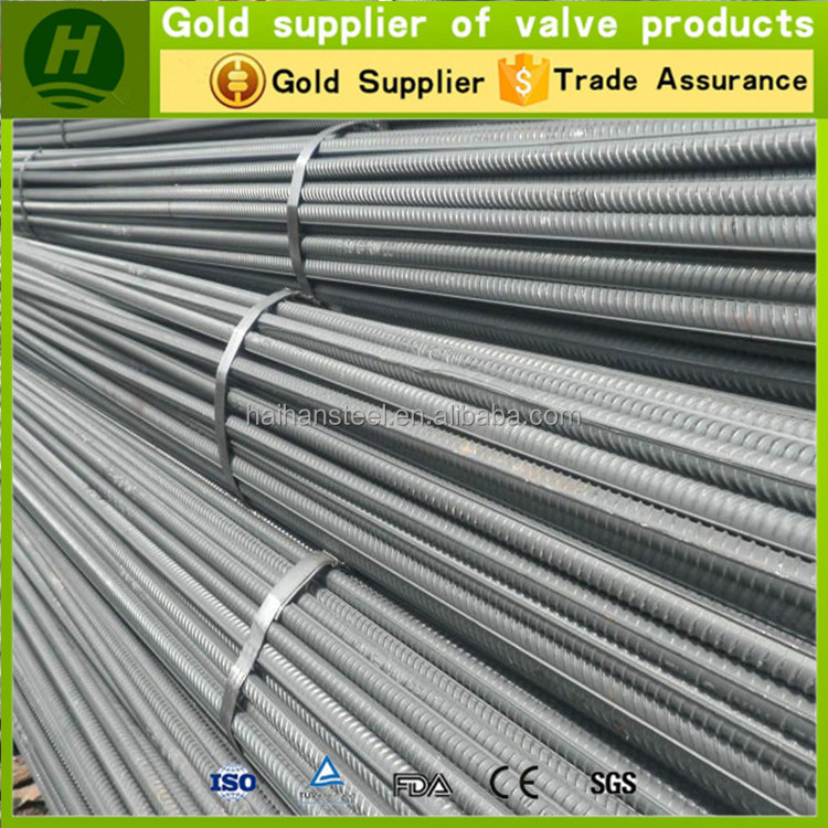 Cheap Export hot rolled Deformed Steel Bar/rebar /iron Rod For Construction