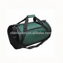"2015 new design 18"" Round Duffle Bag Flexible Roll Bag Gym Traveling Bag"