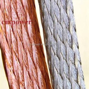 CMPower Electrical Earth Ground Bus Bar Flexible Bare Copper Wire 70mm2