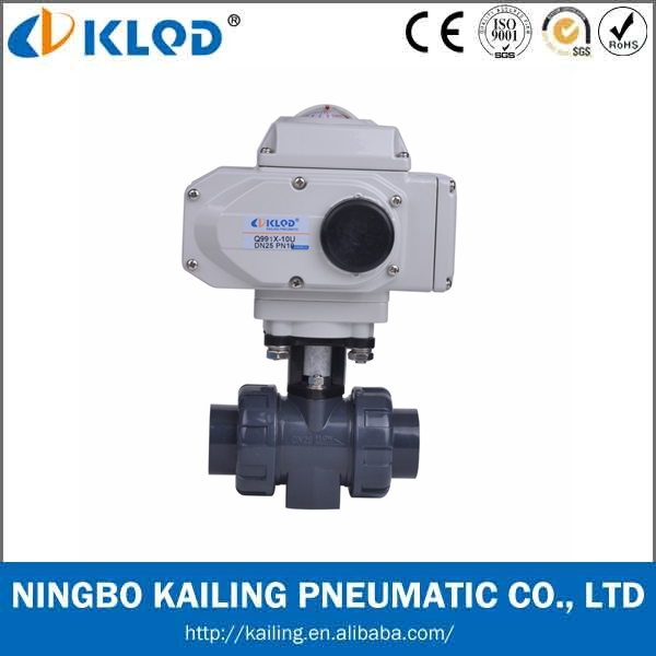 Electric Actuator PVC Ball Valve