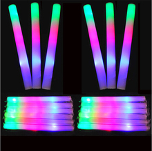 Hot Sale Chinese Factory Custom Print LED Glow Flashing Foam Stick