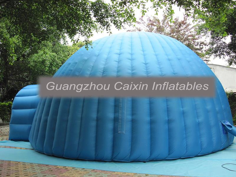0.55mm PVC tarpaulin customized inflatable tent, inflatable tent for tennis