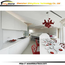 Low price creative kitchen cabinet color combination