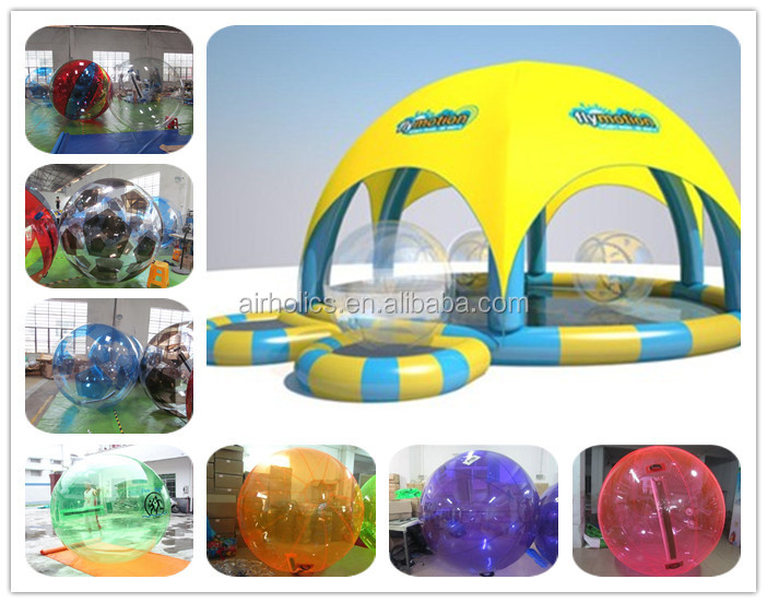 New 3m Diameter PVC Inflatable Water Walking Zorb Balls, Crowd Surfing Balls. Summer Fun!