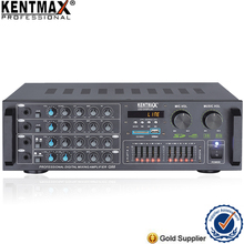 Real RMS 100W pa stereo mixing power amplifier with bluetooth