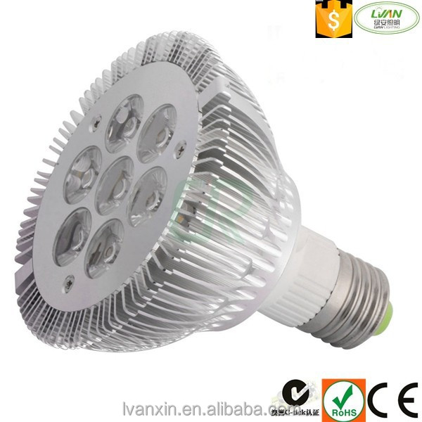 Good Quality 75*62mm 400 lm 5w led Par 30 spotlight with CE ROHS UL approved