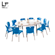 Outdoor Furniture cheap restaurant wedding plastic chairs and tables