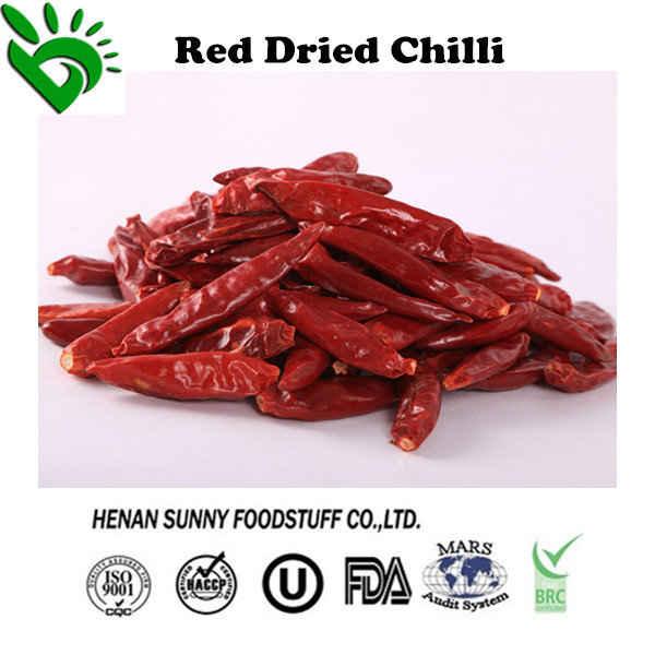 Factory Price of High Quality Dried Chilli