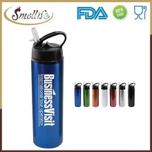 24 ounce Sports Water Bottle Aluminum bottles for drinks with straw