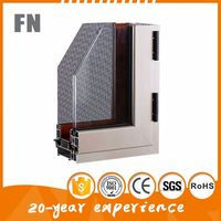 China Top manufacturers aluminum channel window and door profile