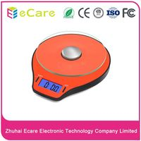 Fashion design digital household glass kitchen scales electronic scales