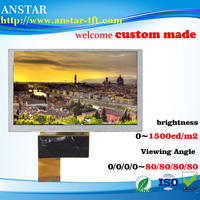 5 inch sunlight readable lcd module ,RGB interface,Transmissive tft lcd panel