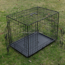 XXL Hot selling iron dog show cage kennel with double door