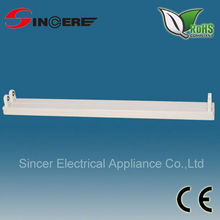 T8 electronic flourescent fixture 2*30W double tube light fitting