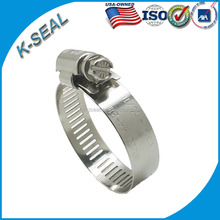 Stainless Steel American Type Worm Drive Hose compression clamp KF6SS