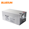 Bluesun VRLA solar energy storaged battery agm bateria 12v 250ah battery for UPS