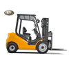 China Manufacturer Japanese Engine 1.5ton Mini Diesel Forklift Truck