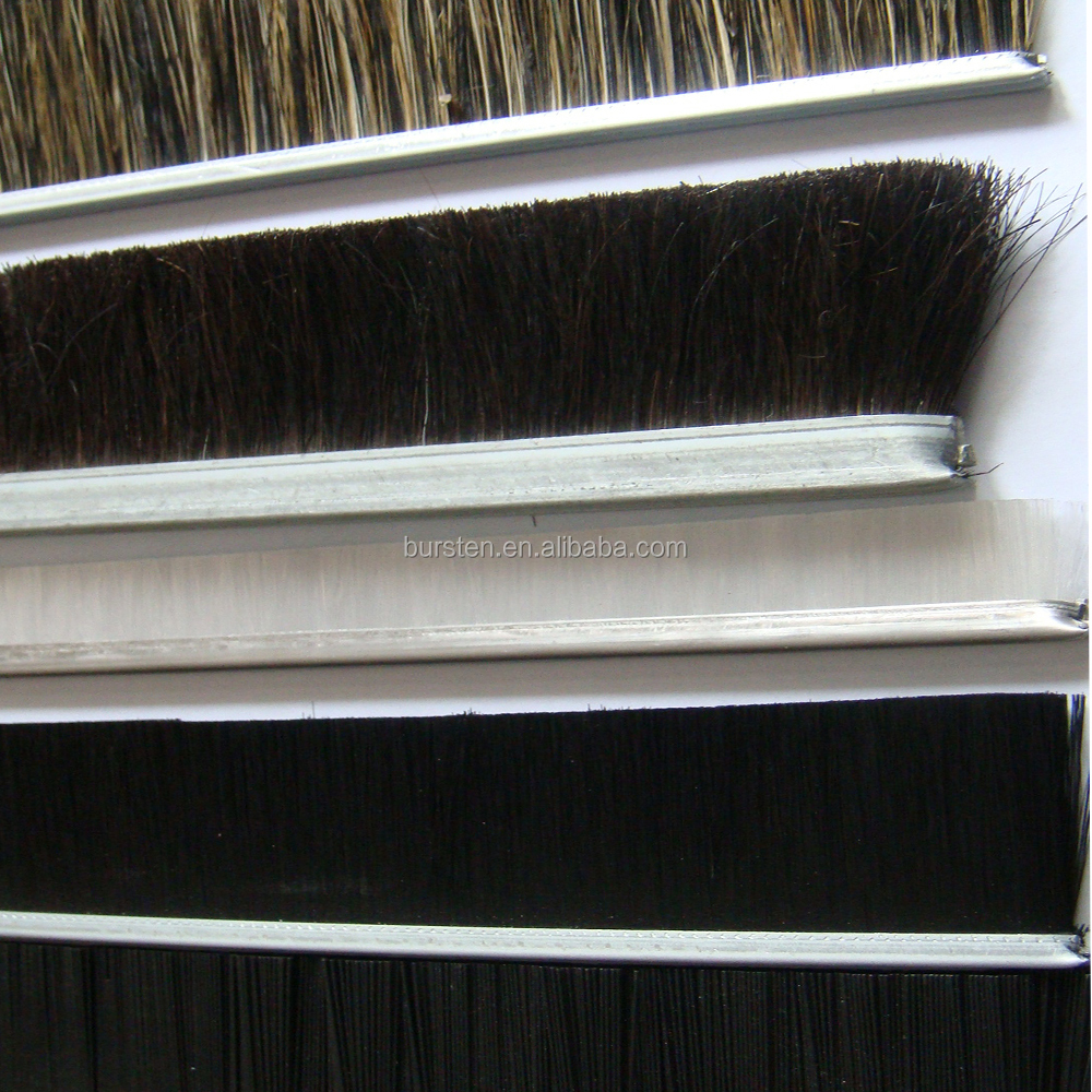 industrial animal hair strip brushes
