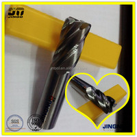 JINOO high performance radius tungsten solid carbide meat cutting tool