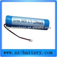 Lithium Ion Battery 3 7v/18650/li Battery 18650 cell/3.7v Li-ion Battery Pack