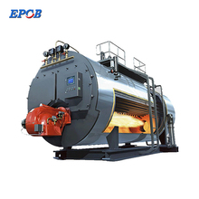 90% Efficiency 1 to 20 Ton Industrial Diesel Heavy Oil Fired Steam Boiler With Corrugated Furnace And Three Pass