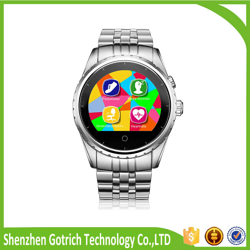 waterproof cell phone watch smart bracelet bluetooth china wholesale watches made in China