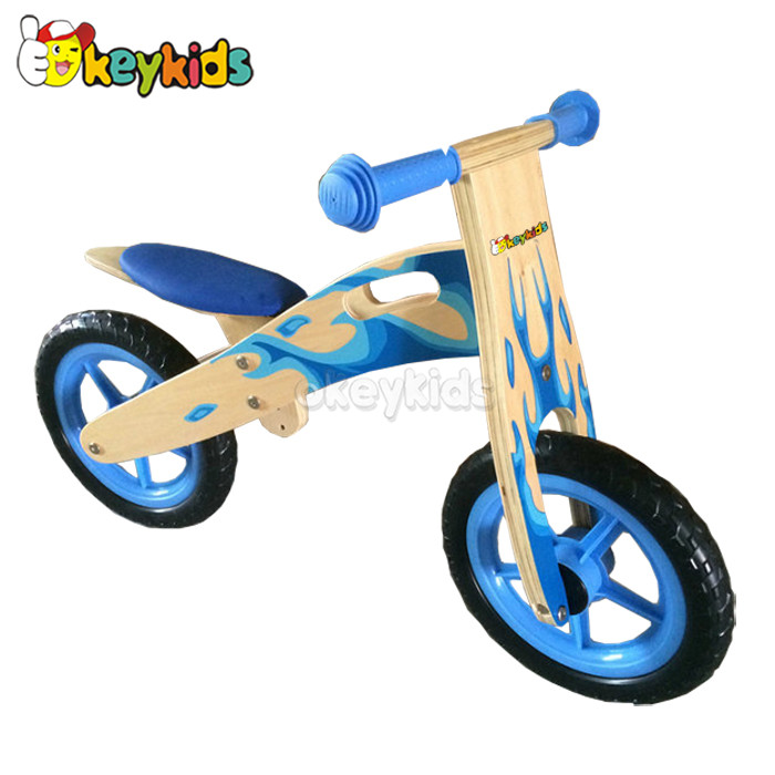 2016 wholesale wooden balance bike for kids, new design wooden balance bike for kids, best balance bike for kids W16C104