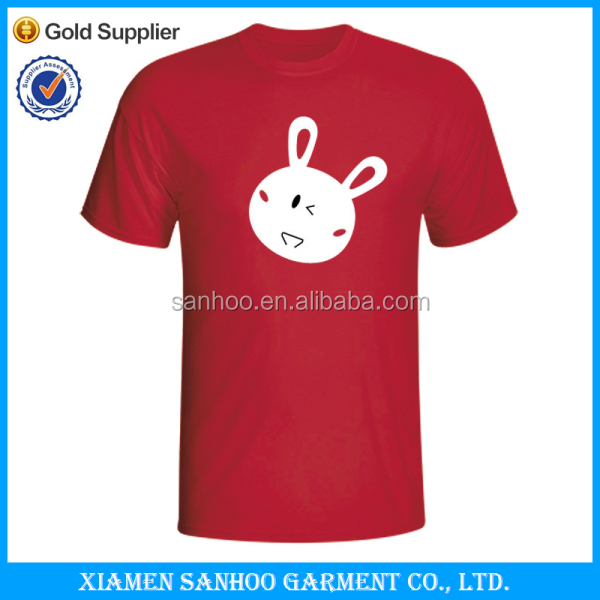 Hot Sale T-Shirt XXXL Low MOQ With Custom Printing Made In China