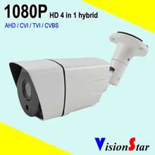 hot selling cctv hd 4 in 1 bullet camera 1080p home system 2.0mp cmos sensor