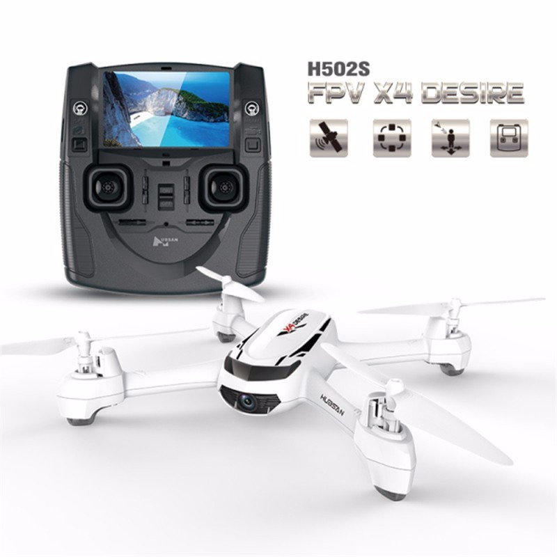 Hubsan H502S 5.8G FPV Quadcopter With 720P HD Camera GPS Altitude Mode